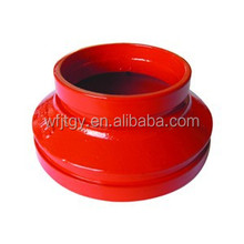 FM&UL Approved Ductile Iron Grooved fire fighting pipe fitting reducer fire fighting