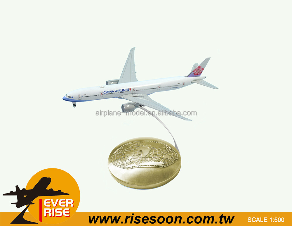 Metal 1:500 CHINA AIRLINES Die-cast Model Aircraft