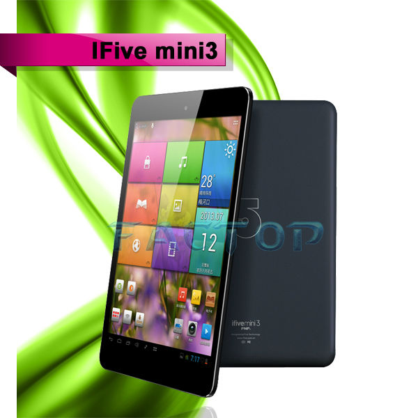 "Newest 7.9"" FNF Ifive Mini3 with Andriod 4.2 OS RK 3188 Tablet PC Quad Core 1.6GHz 1GB/ 16GB ROM Bluetooth"