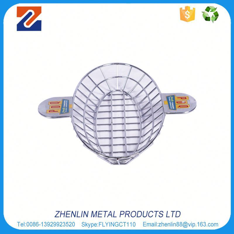 China factory high grade heavy duty wire basket