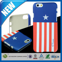 C&T Newest hot selling stripe pc hard back case for cover iphone 6 plus