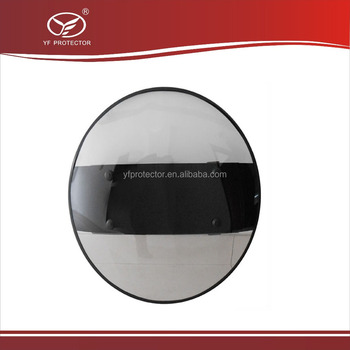 Round riot shield/Anti Riot Protective Shield/Transparent Polycarbonate Riot Shield