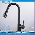 Household Noble Style Retro Oil Rubbed Brass ORB Pull Out Kitchen Sink Faucet FLG8055