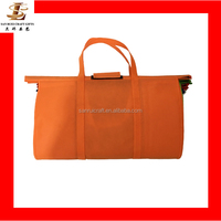 4 colors supermarket trolley non-woven shopping bag with logo customized