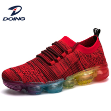 Perfect latest air cushion durable sport running shoes