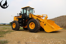 lift capacity 5 ton WOLF construction equipment wheel loader ZL50 with 3m3 bucket capacity lq953 loader