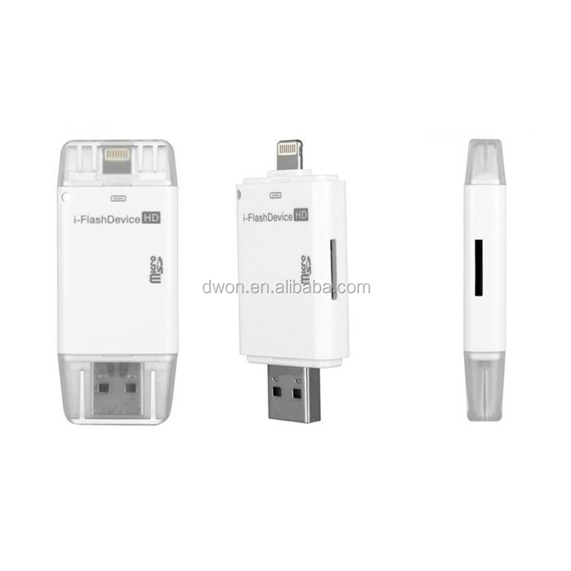 Usb flash drive for iphone Low price wholesale colorful usb flash drive accept paypal card reader adapter for iphone