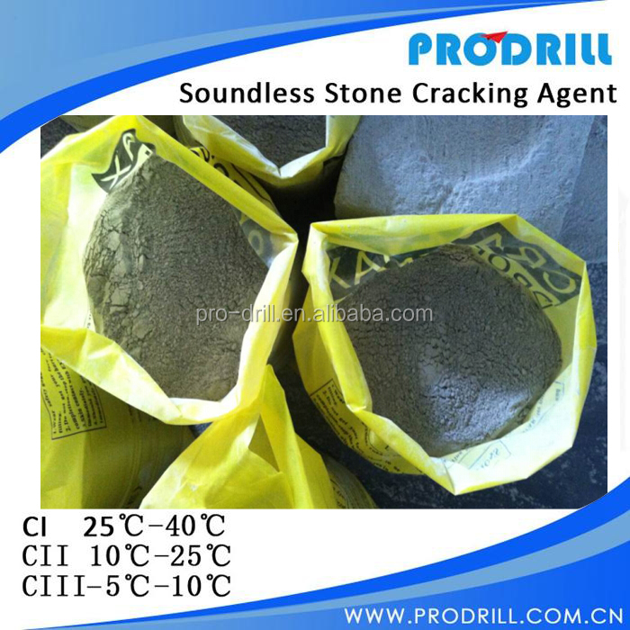 rock melting chemical for stone quarry