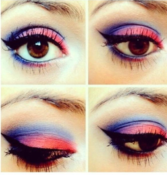 Mixed Color Eyeshadow Pallette
