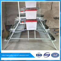 Chicken Poultry Farm Design for cage layer equipment house