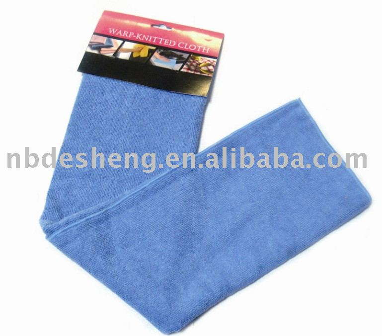 2017 new high absorbent quick dry micro fiber cleaning cloths