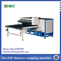 NG-05R mattress roll wrap packing machine for sale