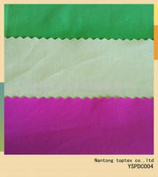 40x40 133x72 solid dyed cotton fabric /green color very young/ plain dyed cotton fabric