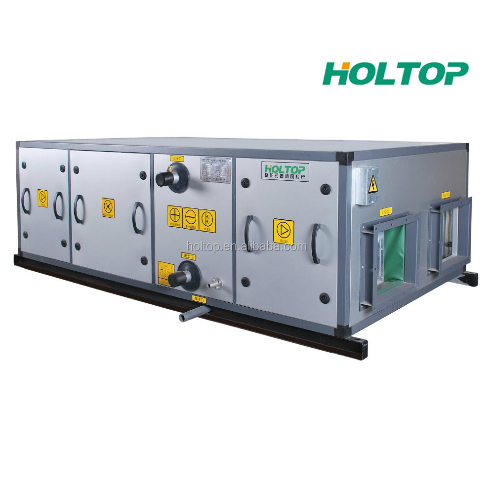 Modular Heat Recovery Air Handling Unit with HEPA filter