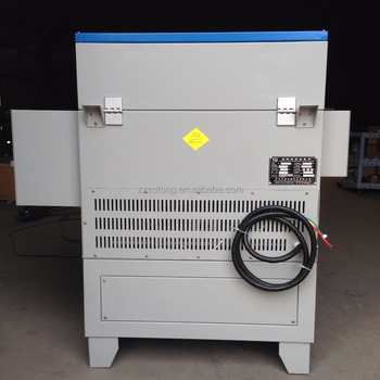 CE certificated 1200C variable rotary quartz tube electric furnace