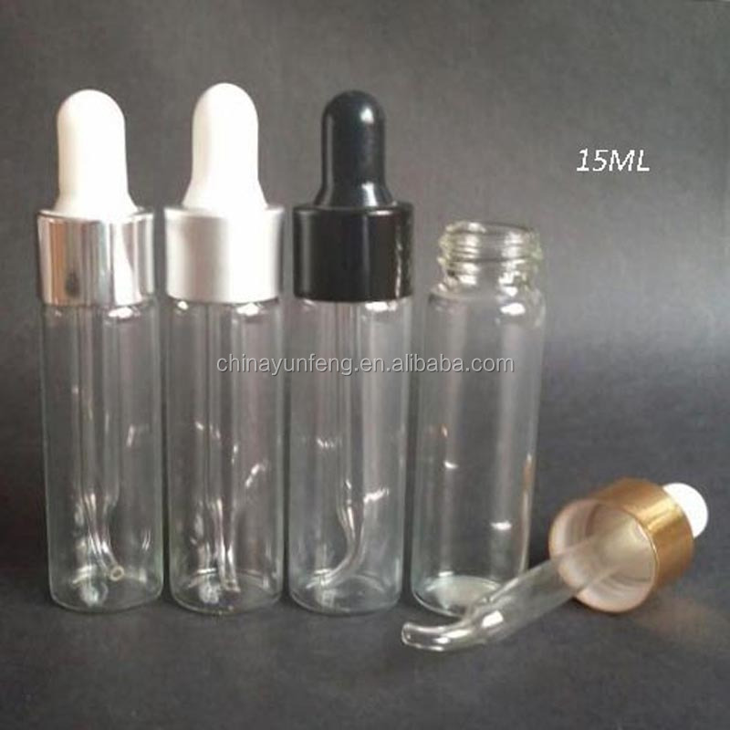 15ml glass dropper bottle
