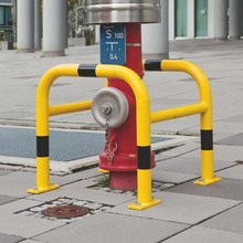 factory powder coating Guard Fragile area Metal safety bollards