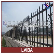 steel fence and steel tube fence panels & designs for steel fence