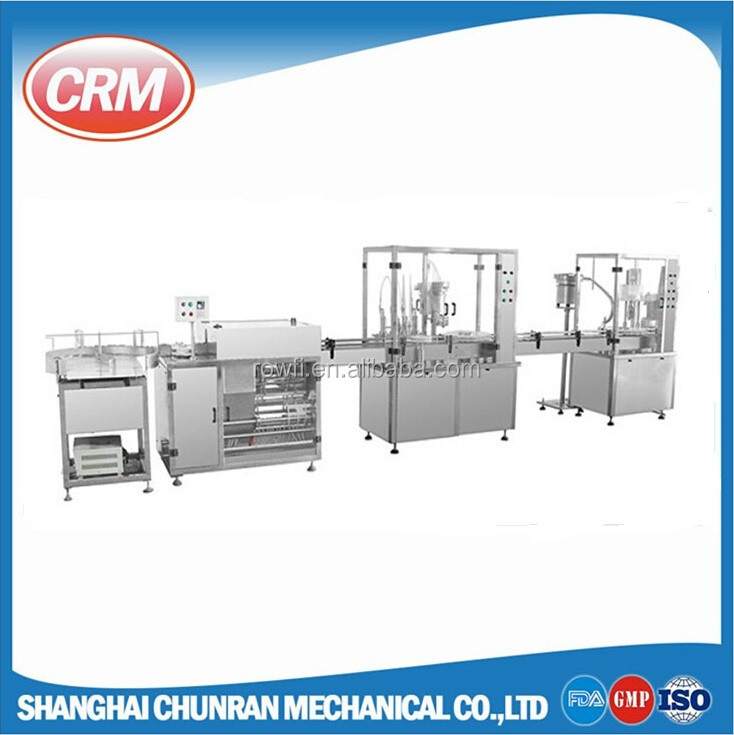 Blow fill seal plastic bottle machine for medical solution manufacture
