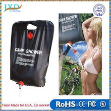 20L Portable Outdoor Camping Hiking Solar Energy Heated Camp PVC Shower Water Bag