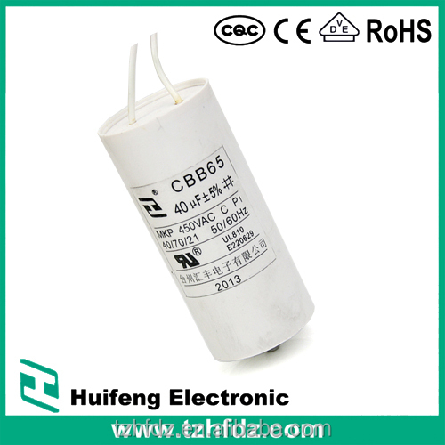 CBB80 LED Lighting Capacitor