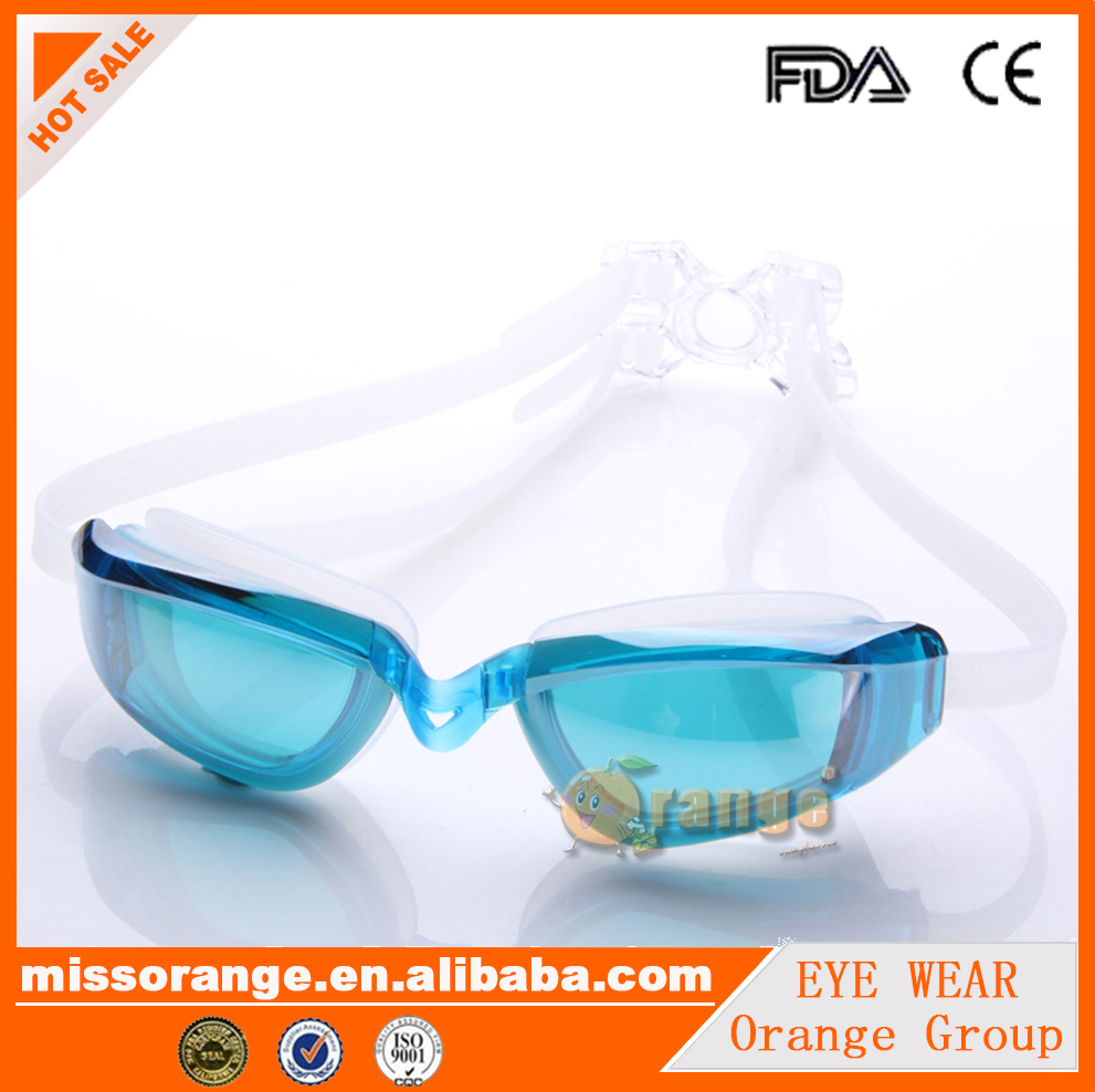 High Quality Prescription anti fog myopia swimming goggles For Women