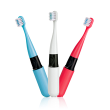 Slim Rechargeable vibrating round head toothbrush for kids