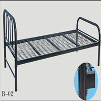 Alibaba china best sell single metal chop bed base