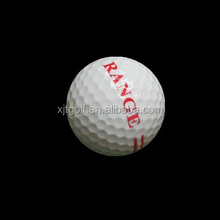 High Quality Customized Logo 2 Pieces Golf Driving Range Balls