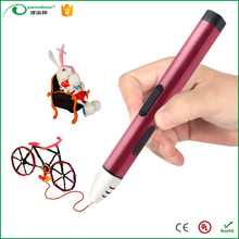 2017 trending products small size school use art printer 3d drawing pen