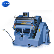 Corrugated carton box making manual die cutting and creasing machine used for paper cutting