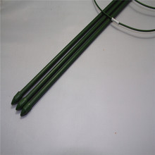 450mm Plastic Coated Steel Plant Garden Support Stakes