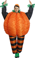 Party Costume inflatable pumpkin costume for adults-25792
