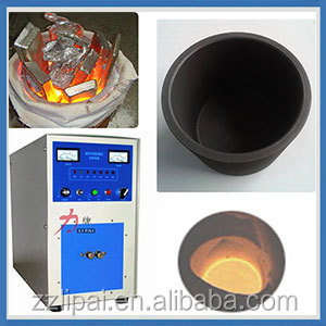 small automatic pouring and tilting crucible melting furnace for sale