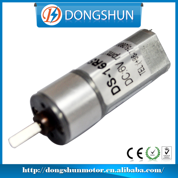 DS-16RS050 16mm high speed low torque elektromotoren