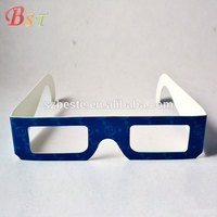 Promotional good quality chromadepth custom logo paper 3d glasses