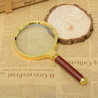 90mm Handheld Glass lens 10X Magnifier Magnifying Glass Loupe Reading Jewelry