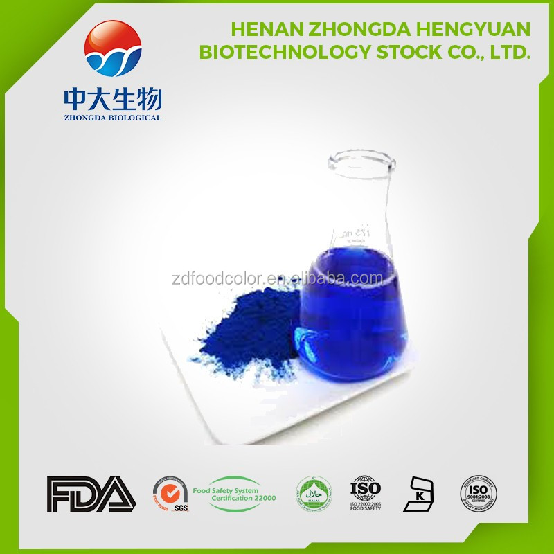 2017 Pure natural color Spirulina Powder Extract supplier