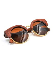 Wholesale best selling hot color sunglasses wood