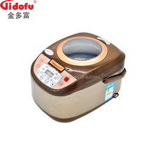 Factory price multi functions digital display micom rice cooker with window lid