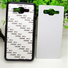 JESOY Blank Sublimation Phone Case For Samsung Galaxy Note 3 4 5 Protective Cases