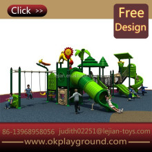supplier castle style benefit feature hottest cheerful plastic outdoor playground