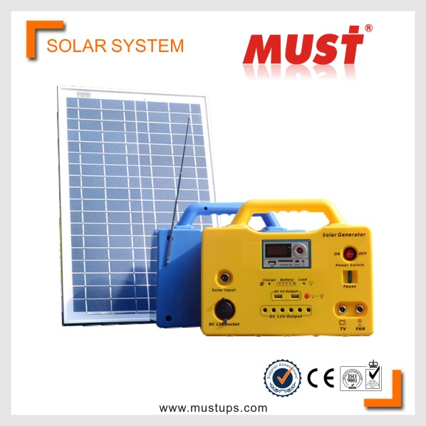 18v Mini solar system in karachi with mobile charger