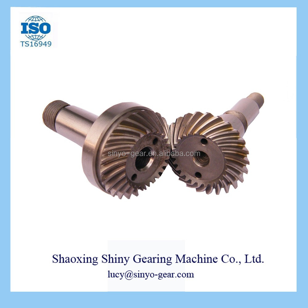 Shiny oem car bevel gear machine