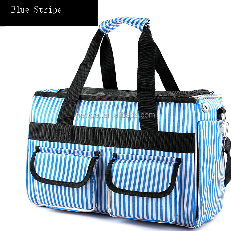 Waterproof fabric portable pet bag pet bag dog carrier for travel