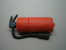 Hot oem high speed fire-fighting equipment pvc extinguisher flash memory usb stick