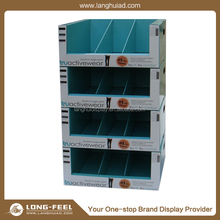 Supermarket Promotional Pallet floor display rack/ display stand
