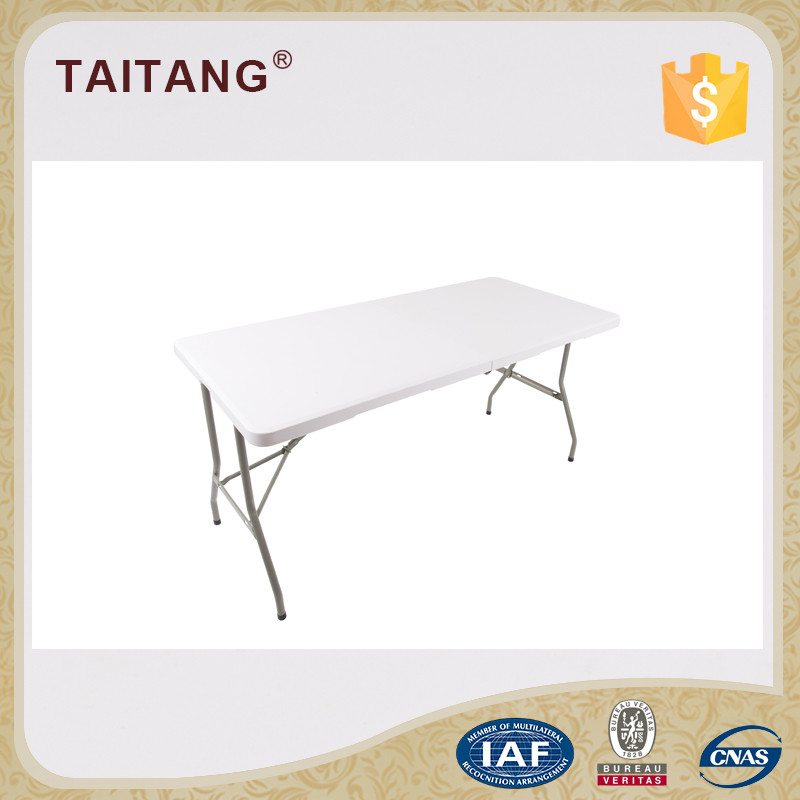 Good quality rectangle Simple folding conference table