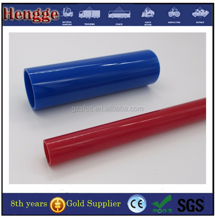 High Quality Frosted Red Acrylic Tube China Factory
