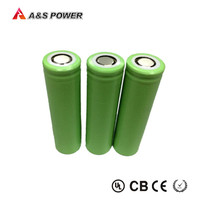 3.7V 2200mAh rechargeable lithium cylindrical 18650 li ion battery